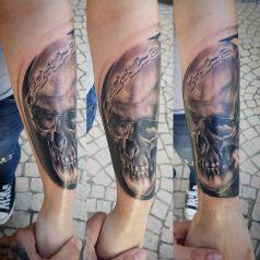 Skull réaliste